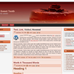 Free WordPress theme Sweet 3 column