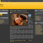 Elegant - Dark Free WordPress Theme