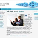 Earn Online Free WordPress Theme 3 columns