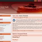 Sweets 2 columns B Free WordPress Theme